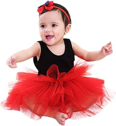 Sannysis Niñas Traje Vestido Tutú de Ballet Baile Falda de Danza ...