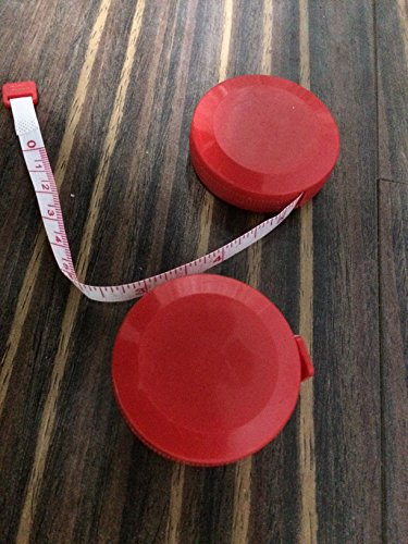 2 Pack Retractable Soft Tape Measure, 79