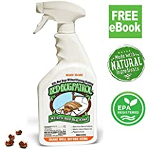 Bed Bug Killer by Bed Bug Patrol | 100% Natural , Non-Toxic , Environmentally Friendly, Family & Pet Safe Bed Bug Spray, eBook!