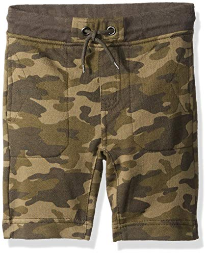 Gymboree Boys' Big Knit Shorts, camo French Terry M ()