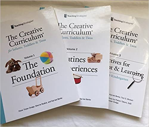 Amazon the creative curriculum for infants toddlers twos 3 the creative curriculum for infants toddlers twos 3 volume set revised edition fandeluxe Gallery