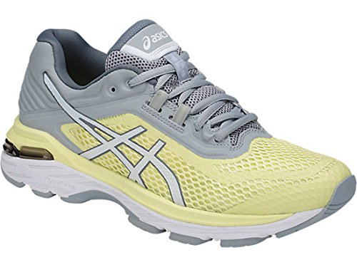 ASICS Women's GT-2000 6 Running Shoe, Limelight/White/Mid Grey, 5 M US by ASICS (Image #1)