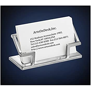 Amazoncom ArtsOnDesk Modern Art Business Card Holder St201