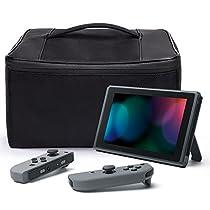Nintendo Switch Tasche, iDudu Aufbewahrungstasche / Hülle / Case / Schutzhülle für die Nintendo Switch Konsole & Accesoires