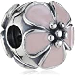 Cherry Blossom Pink Enamel Pandora Clip 791041EN40