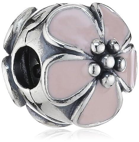 Cherry Blossom Pink Enamel Pandora Clip 791041EN40 - Pandora Fiore Charm