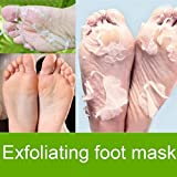 Opino Exfoliating Foot Mask,Remove Away Calluses and Dry Dead Skin,Repair Rough Heels, Get Silky Soft Feet,1 Bag&1Set (1 x Bag)