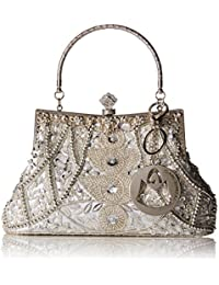 Louise Beaded and Sequined Evening Bag