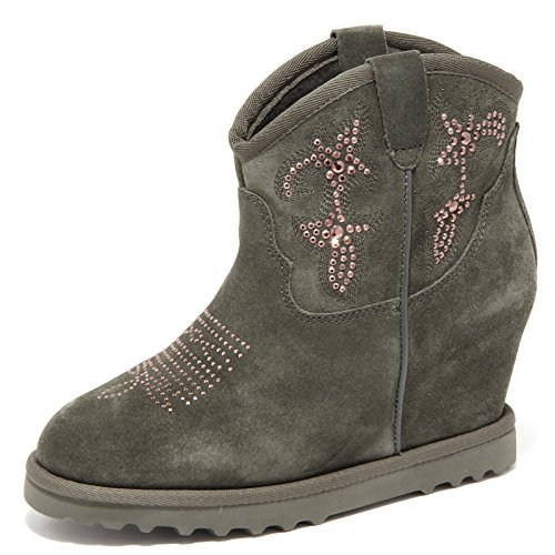86641 stivaletto ASH YASMIN whitout boX scarpa stivale donna boots shoes women VERDE MILITARE