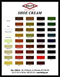 Kelly's Shoe Cream - Professional Shoe Polish - 1.5 oz - Multiple Colors Available