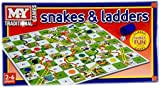 Snakes and Ladders Board Game Traditional Children Games X 1