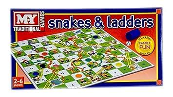 Serpientes Y Escaleras Juego De Mesa Tradicional Juego De Los Ninos