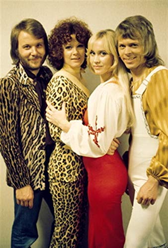"""Used, Abba Poster 18"""" X 24"""" - Abba Print for sale  Delivered anywhere in USA"""