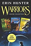warriors 3 book collection with bonus material warriors 1 into the wild; warriors 2 fire and ice; warriors 3 forest of secrets warriors the prophecies begin
