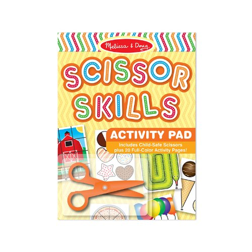 MELISSA & DOUG SCISSOR SKILLS ACTIVITY PAD (Set of 3) Doug Scissors Set