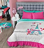 NEW Paris Teens Bedspread Set (Full/Queen)
