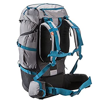 2d013fb3d Amazon.com   Quechua Hiking Camping Water Repellent Backpack Rucksack  Forclaz 50L   Sports   Outdoors