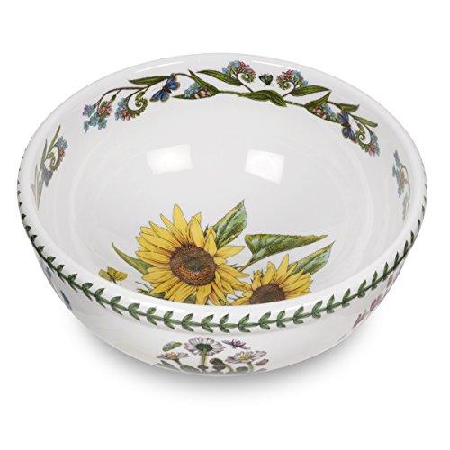 Portmeirion Botanic Garden Salad Bowl, Sunflower Motif