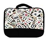 Mah Jong Tiles Mahjong Canvas Lunch Bag