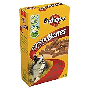 Pedigree Gravy Bones Original Dog Treat 400G Click on image for further info.
