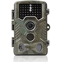 NexGadget 1080P HD Game and Trail Camera With Time Lapse 65ft 120°Wide Angle Infrared Night Vision 42pcs IR LEDs 2.4 LCD Screen Scouting Camera Deer Camera