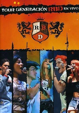 Rbd - Tour Generacion Rbd En Vivo [USA] [DVD]: Amazon.es: Rbd: Cine y Series TV