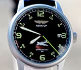 Soviet Vintage Military POLJOT AVIATOR Men's WRISTWATCH USSR Mechanical Rare