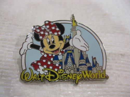 Disney Pin Where Dreams Come True Minnie with Castle 2007 Release
