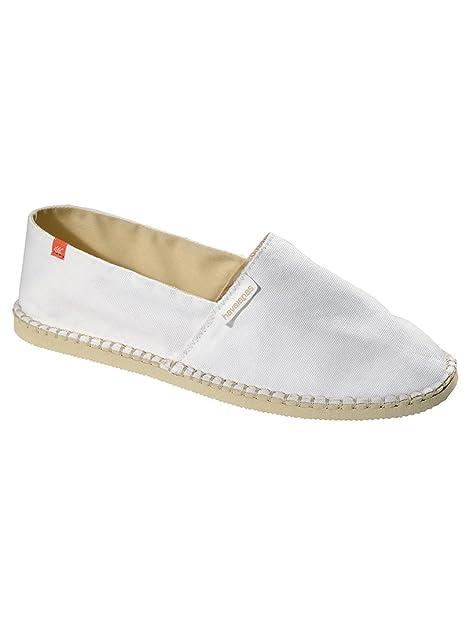 Havaianas - Alpargatas para hombre blanco blanco, color blanco, talla 41.5: Amazon.es: Zapatos y complementos