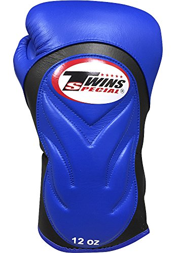 Twins Special Boxing Gloves 10oz (Black) - 8