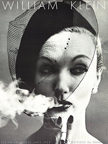 william-klein-evelyn-gauloise-paris-1958-poster