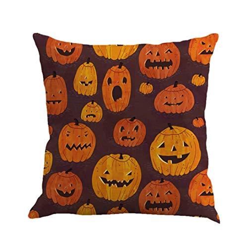 Longra☀ ¡¡¡Feliz Halloween!!! Fundas de Almohadas Funda de ...