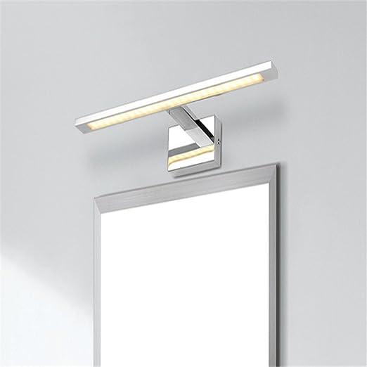 3 opinioni per Lightess Lampada da Specchio a LED 10W; Lampada Moderna Impermeabile di Acciaio
