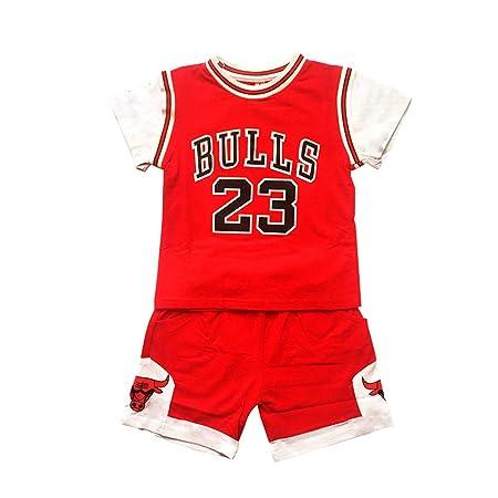 AIALTS Bulls 23 Camiseta de Baloncesto Jordan Conjunto de ...