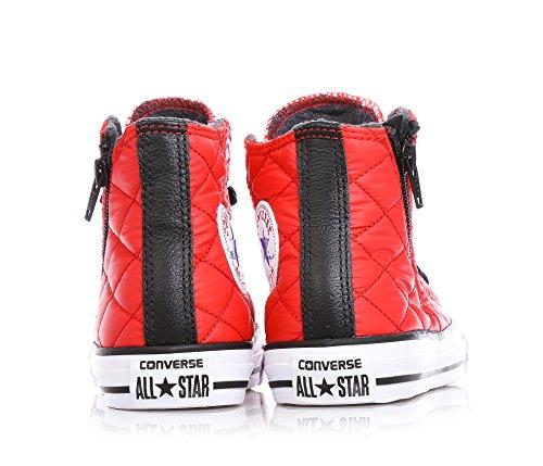 Converse All Star Hi Side Zip Tex - C2 -  para hombre Rojo