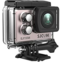 SJCAM SJ7 STAR WiFi 4K Action Camera- Touchscreen Remote Control Waterproof Underwater Sports Camera, Gyro Stabilization/ Ambarella Chipset/ Metal Body/ External Microphone Supported- Gold Rose