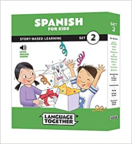 Spanish for Kids: 10 Early Beginner Reader Books with Online ...