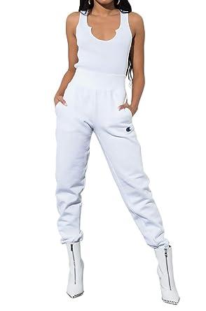 release date: eadd2 7208a Champion LIFE Women s Reverse Weave Jogger, White, ...