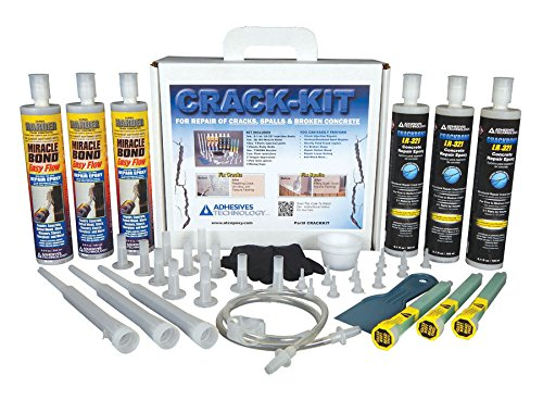 Crack-Kit Epoxy Injection Concrete Crack Repair Kit