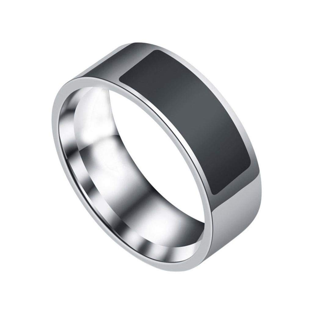 Rucan NFC Multifunctional Waterproof Intelligent Ring Smart Wear Finger Digital Ring 12#