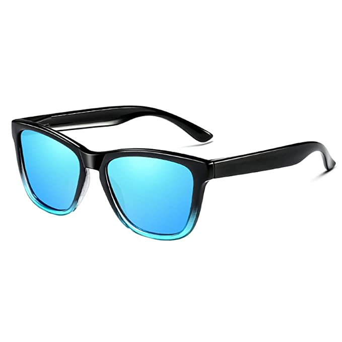 a599957957 Inlefen Unisexo Polarizado Gafas de sol Clásico Retro UV400 Vendimia Gafas  de sol por Hombre mujer Azul negro: Amazon.es: Ropa y accesorios