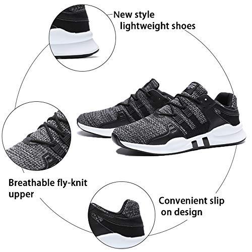 4 Pour D'athlétisme Fushiton Gray Homme Chaussures zOXwwxZqg