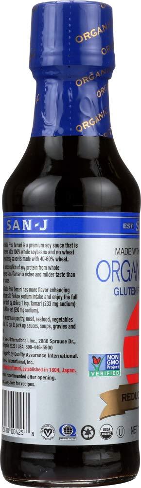 Amazon.com: (NOT A CASE) Organic Reduced Sodium Gluten Free Tamari Soy Sauce: Home & Kitchen