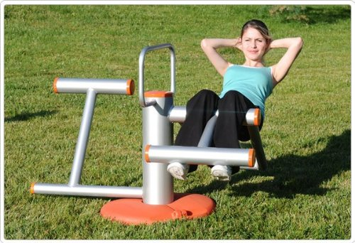 Sports Play 902-955H Ab Workout Outdoor Fitness Station
