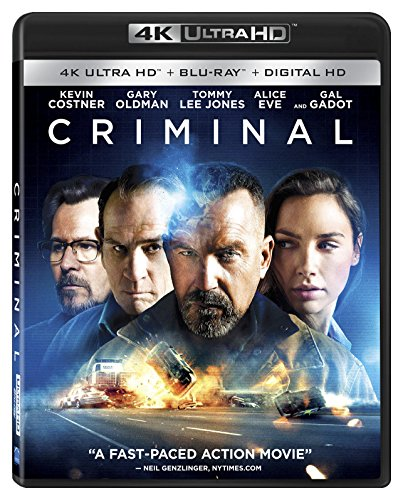 4K Blu-ray : Criminal (4K Mastering, Widescreen, 2 Pack)
