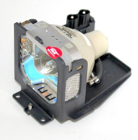 Electrified POA-LMP65 Replacement Lamp with Compatible Housing and FACTORY ORIGINAL BULB for EIKI LC-SB20 Projectors