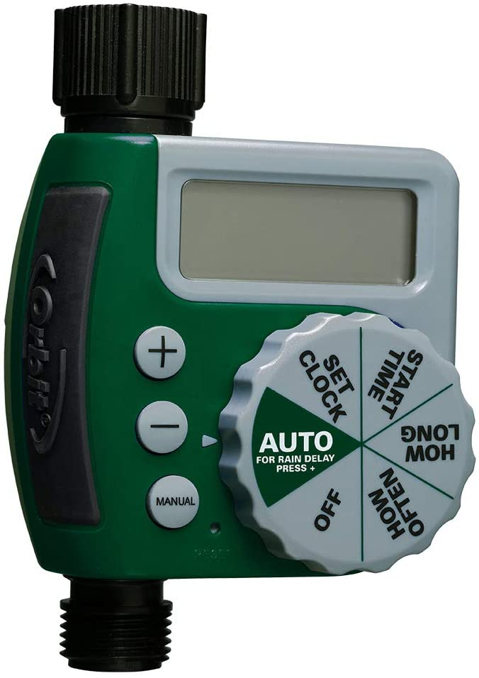 Orbit 62061Z Single-Outlet Hose Watering Timer, 1, Green : Hose Timer : Garden & Outdoor