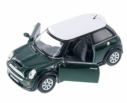 MINI Cooper S Hard Top, Green - Kinsmart 5059SD - 1/28 Scale Diecast Model Toy Car (Brand New but NO BOX)