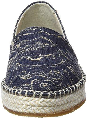 Ocean El Blu Donna Espadrillas N5344 Naturalista n4qqwYZ6