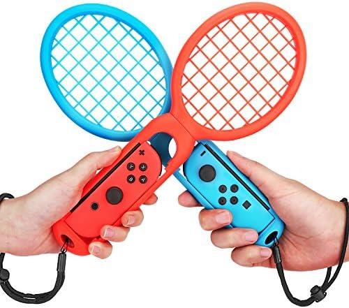 MoKo Raqueta de Tenis Compatible con Nintendo Switch, 2PCS ...